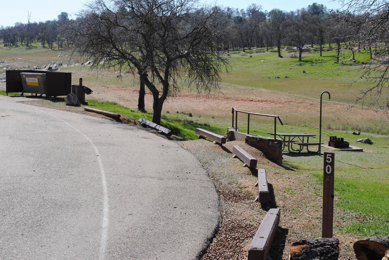 Acorn Campground Site 50Pull through
