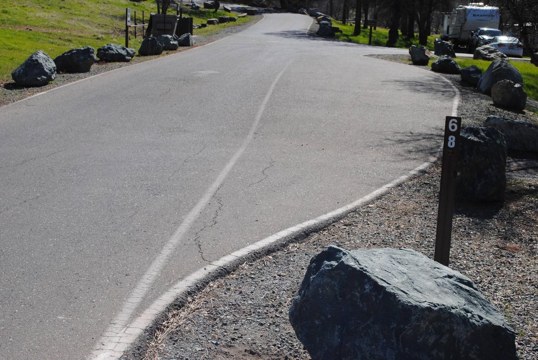 Acorn Campground Site 68Pull through