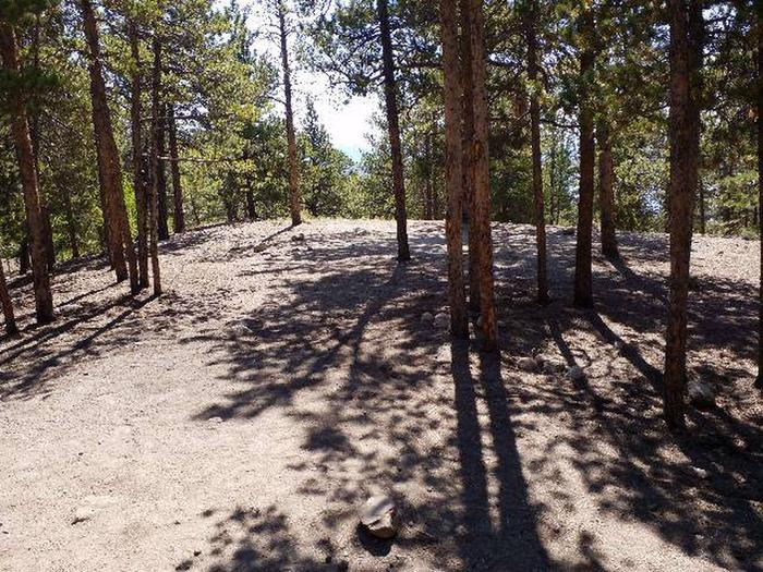 Lakeview Campground, site B3 view