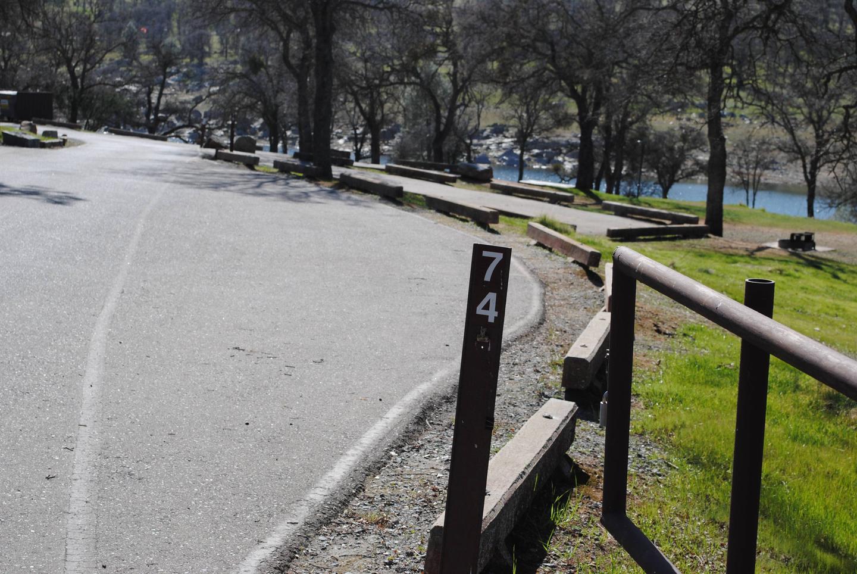 Acorn Campground Site 74Pull through