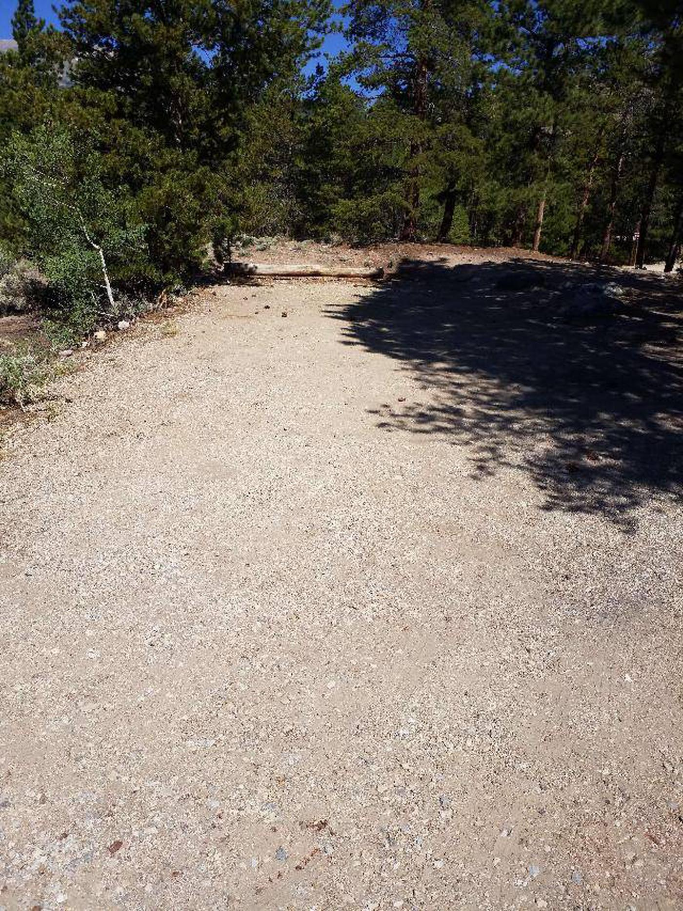Lakeview Campground, site B5 parking
