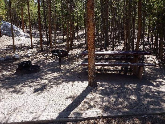 Lakeview Campground, site C2