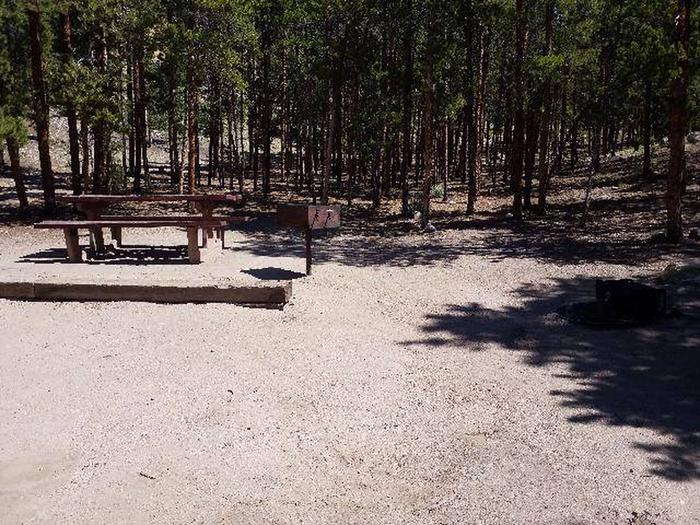 Lakeview Campground, site C3