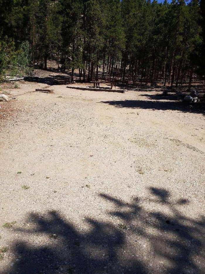 Lakeview Campground, site C3 parking