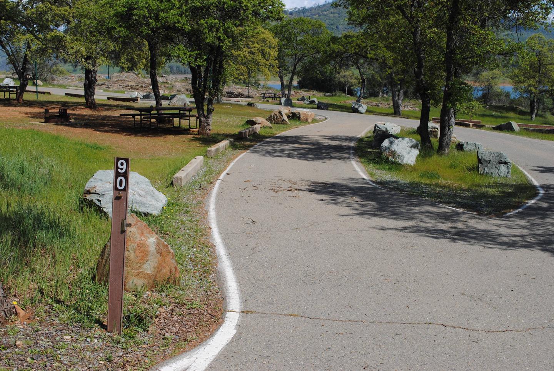 Acorn Campground Site 90Pull through