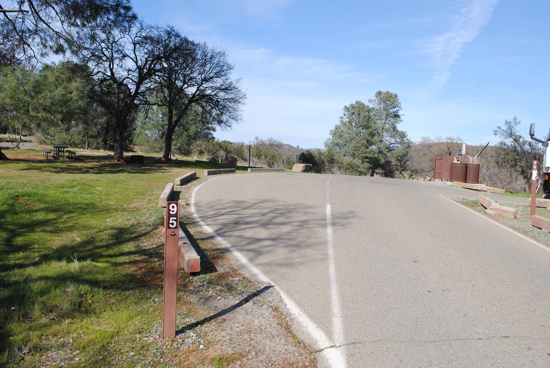Acorn Campground Site 95Pull through