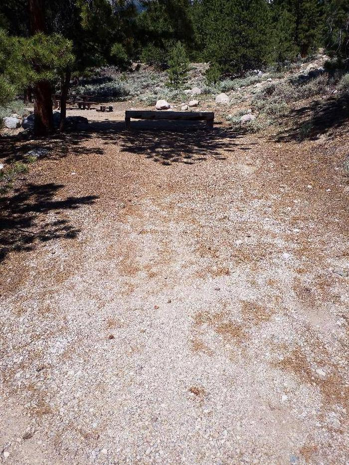 Lakeview Campground, site E8 parking