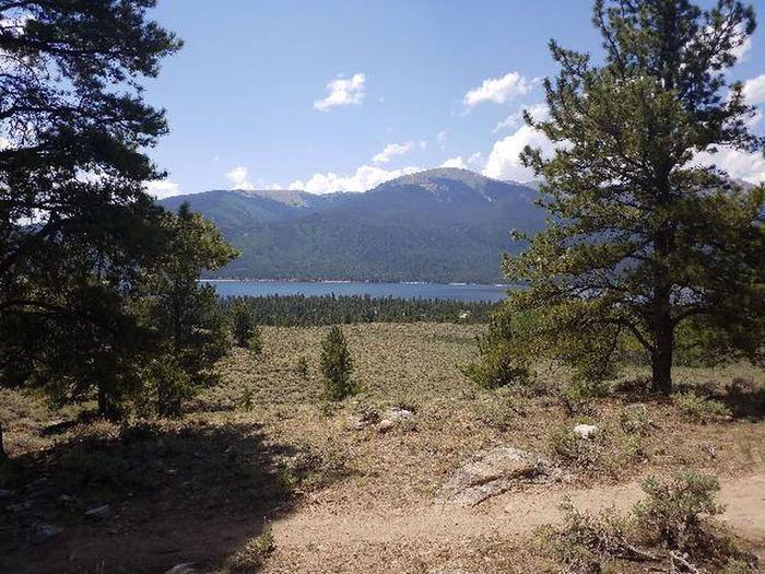 Lakeview Campground, site F6 view 2