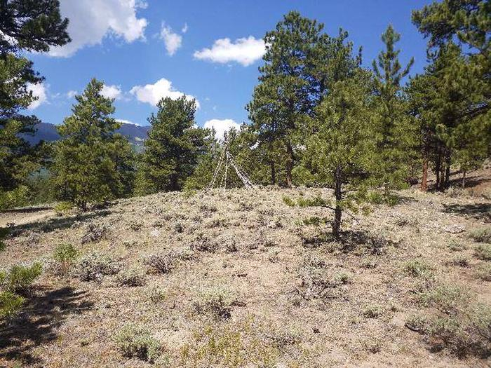 Lakeview Campground, site F6 view 3