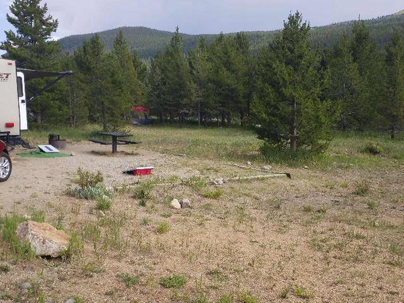 May Queen Campground, site 13