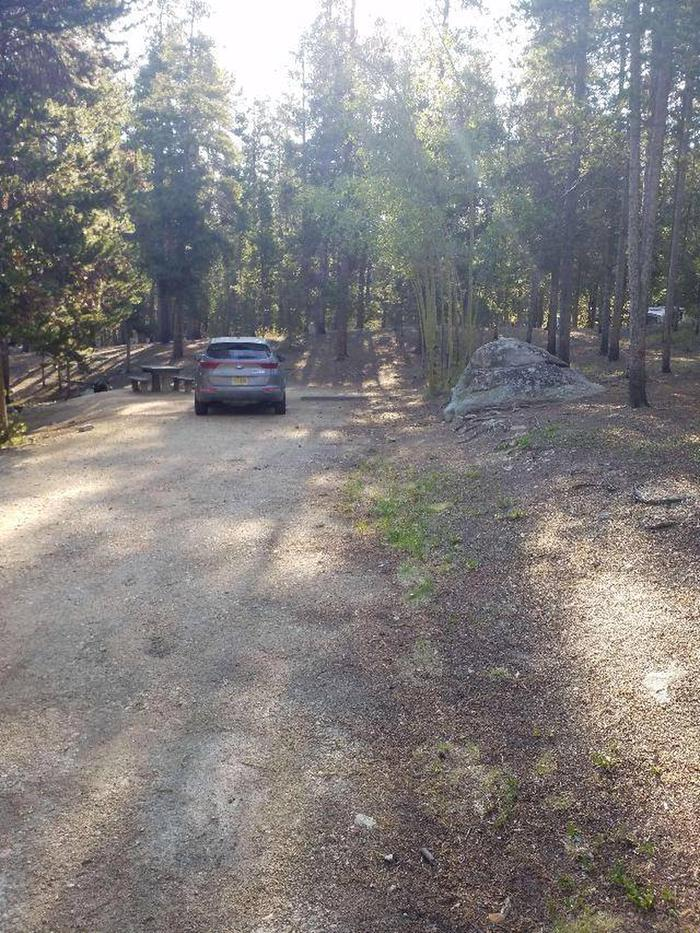 Molly Brown, site 9 parking