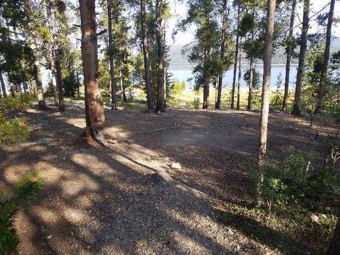 Molly Brown Campground, site 10