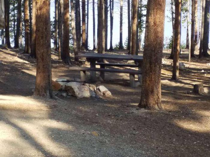 Molly Brown Campground, site 13