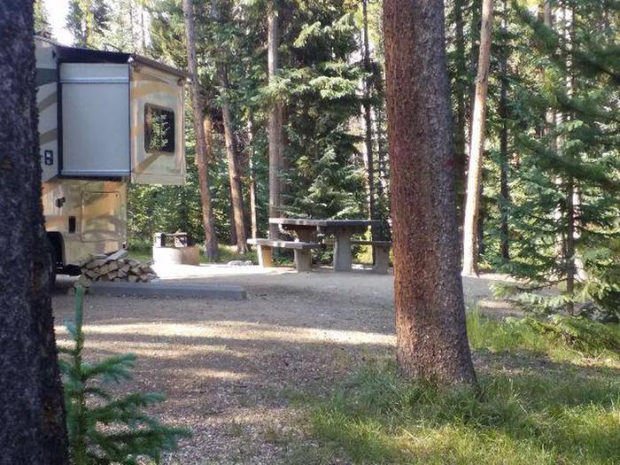 Molly Brown Campground, site 16