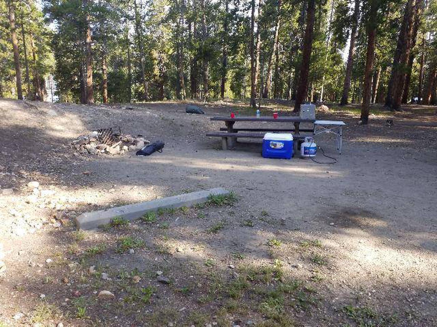 Molly Brown Campground, site 19