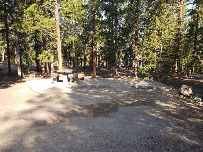 Molly Brown Campground, site 21