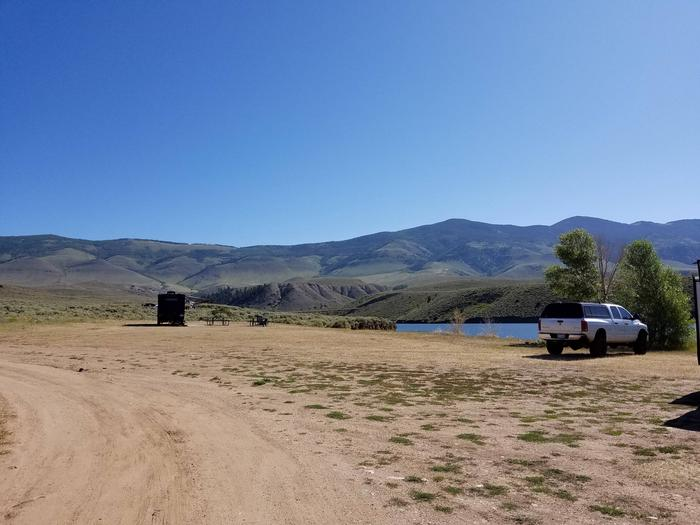 Cow Creek campground 1