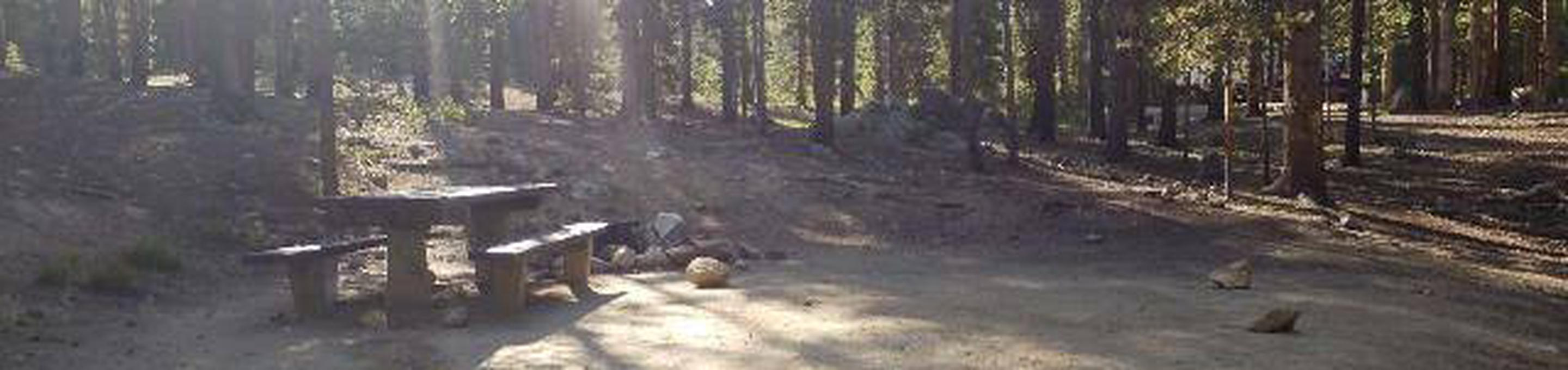 Molly Brown Campground, site 23