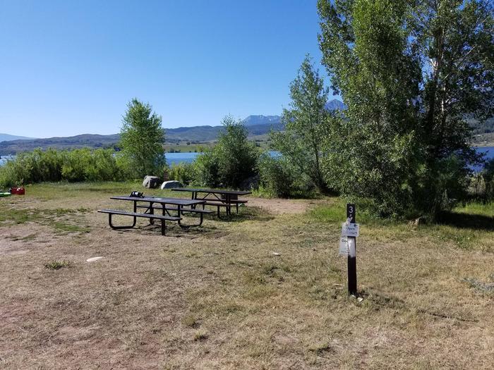 Cow Creek South Campsite 3