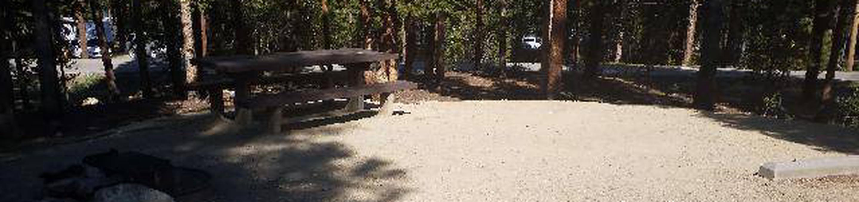Molly Brown Campground, site 25