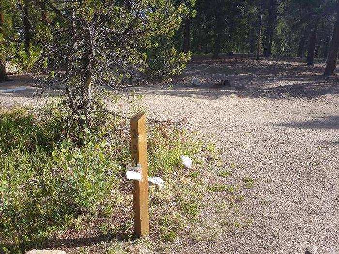 Molly Brown Campground, site 39 marker