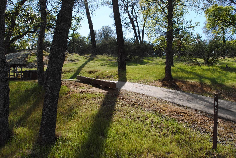 Acorn Campground Site 103Slip