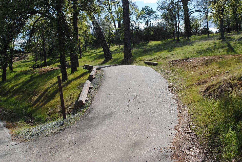 Acorn Campground Site 104 parking Slip