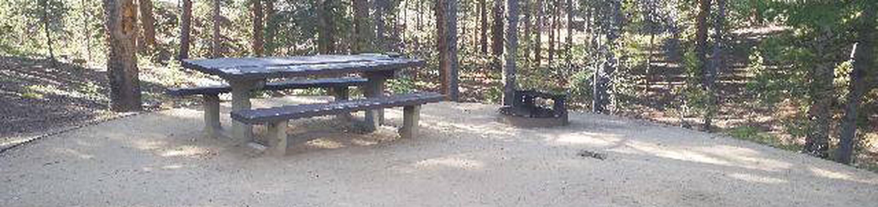 Molly Brown Campground, site 44