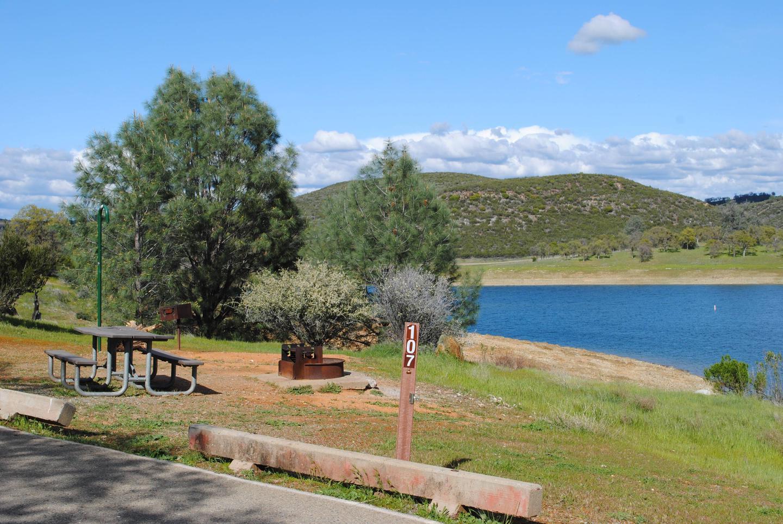 Acorn Campground Site 107Pull through