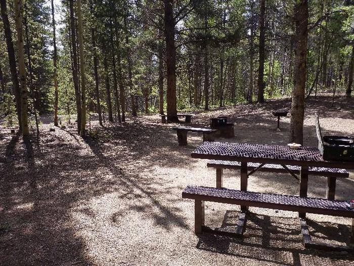 Printer Boy Group Campground, Site 2 tables