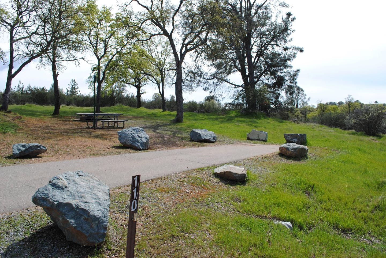 Acorn Campground Site 110Slip