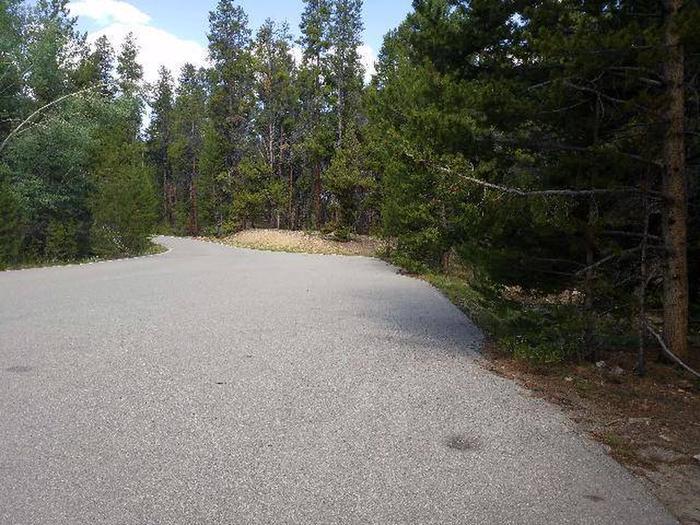 Printer Boy Group Campground, Site 3 parking