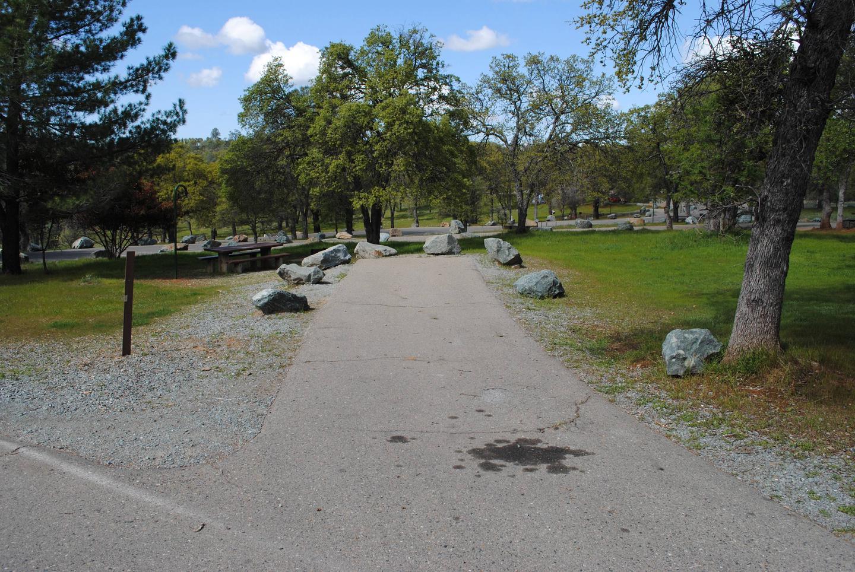 Acorn Campground Site 111 parking Slip