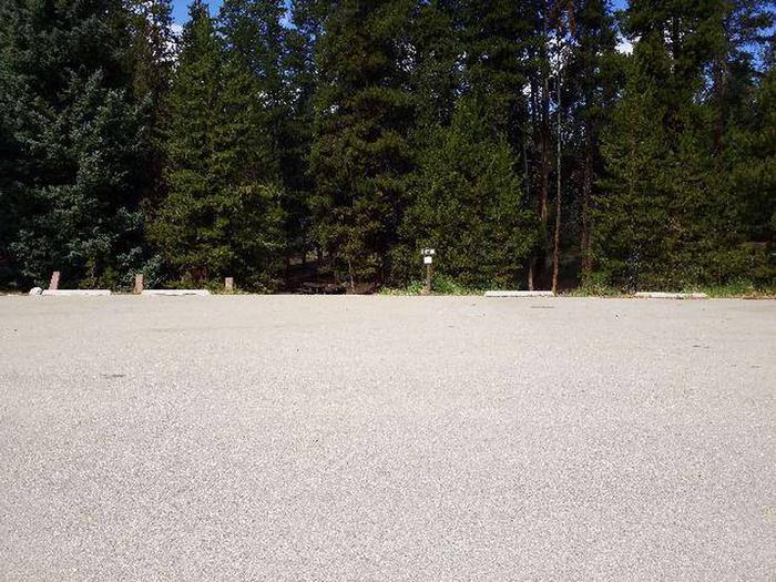 Printer Boy Group Campground, Site 4 parking