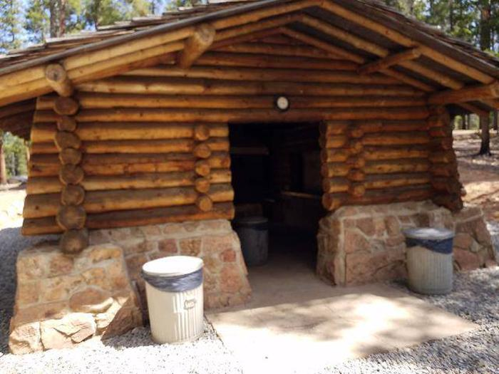 Printer Boy Group Campground Community Cookhouse exterior 2