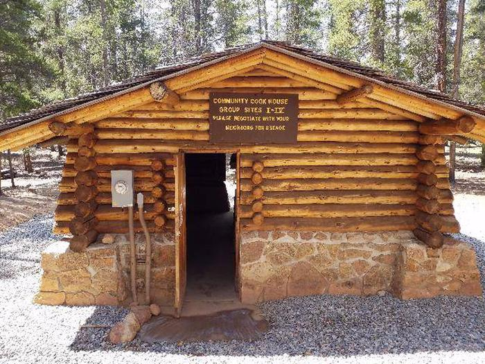 Printer Boy Group Campground Community Cookhouse exterior 1