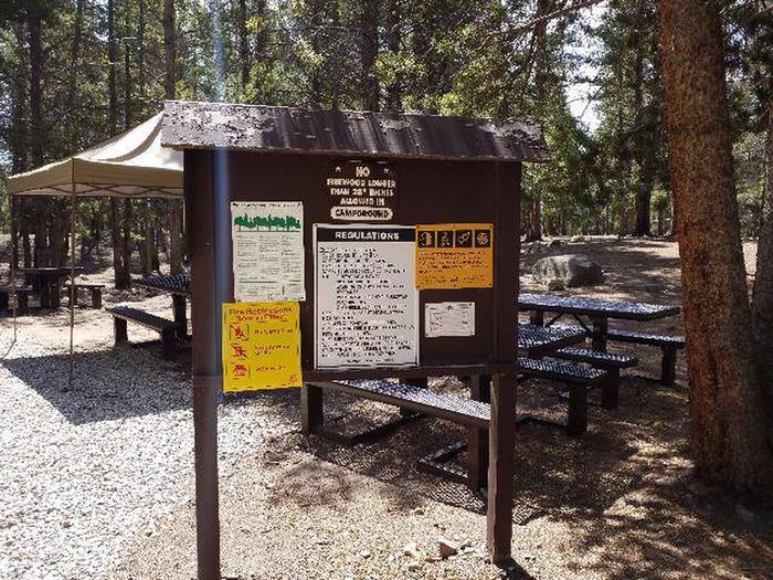 Printer Boy Group Campground board