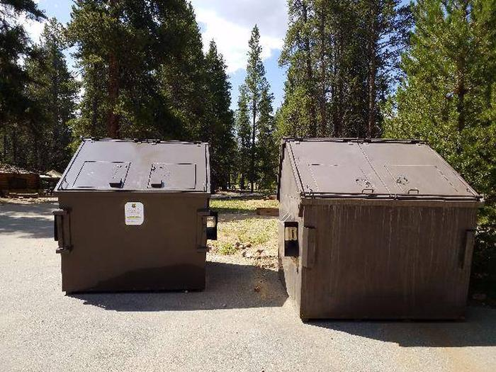 Printer Boy Group Campground dumpsters