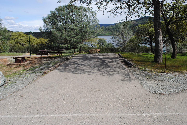 Acorn Campground Site 119 parking Slip