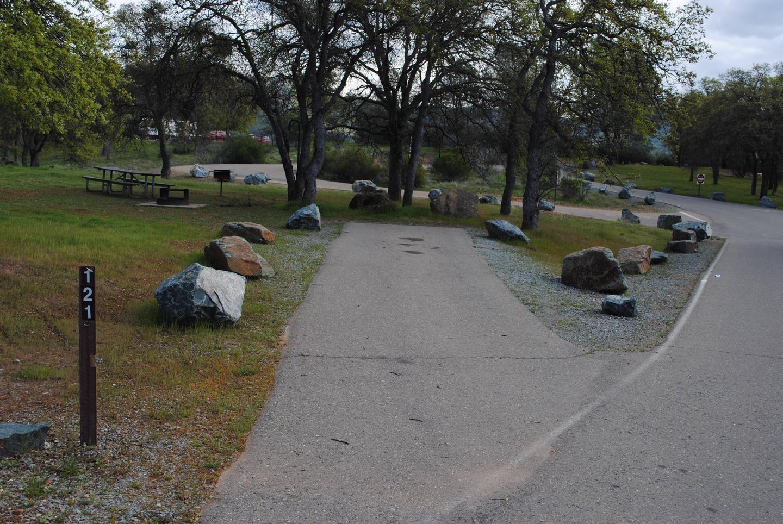 Acorn Campground Site 121Slip