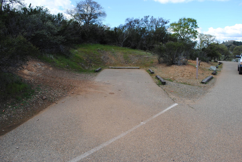 Acorn Campground Site 128 parking Slip