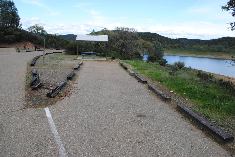 Acorn Campground Site 131 parking Slip