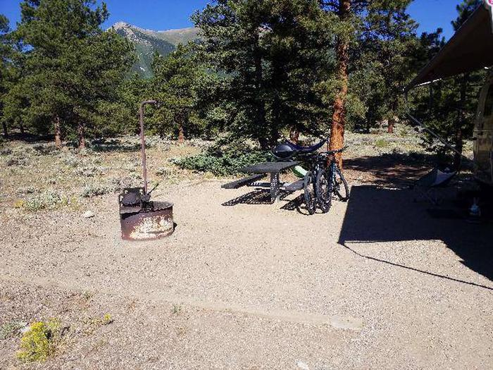 White star Campground, site 3