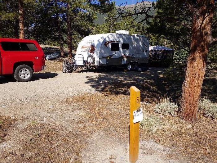 White Star Campground, site 6