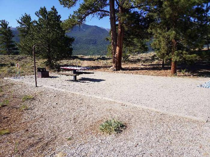 White Star Campground, site 7