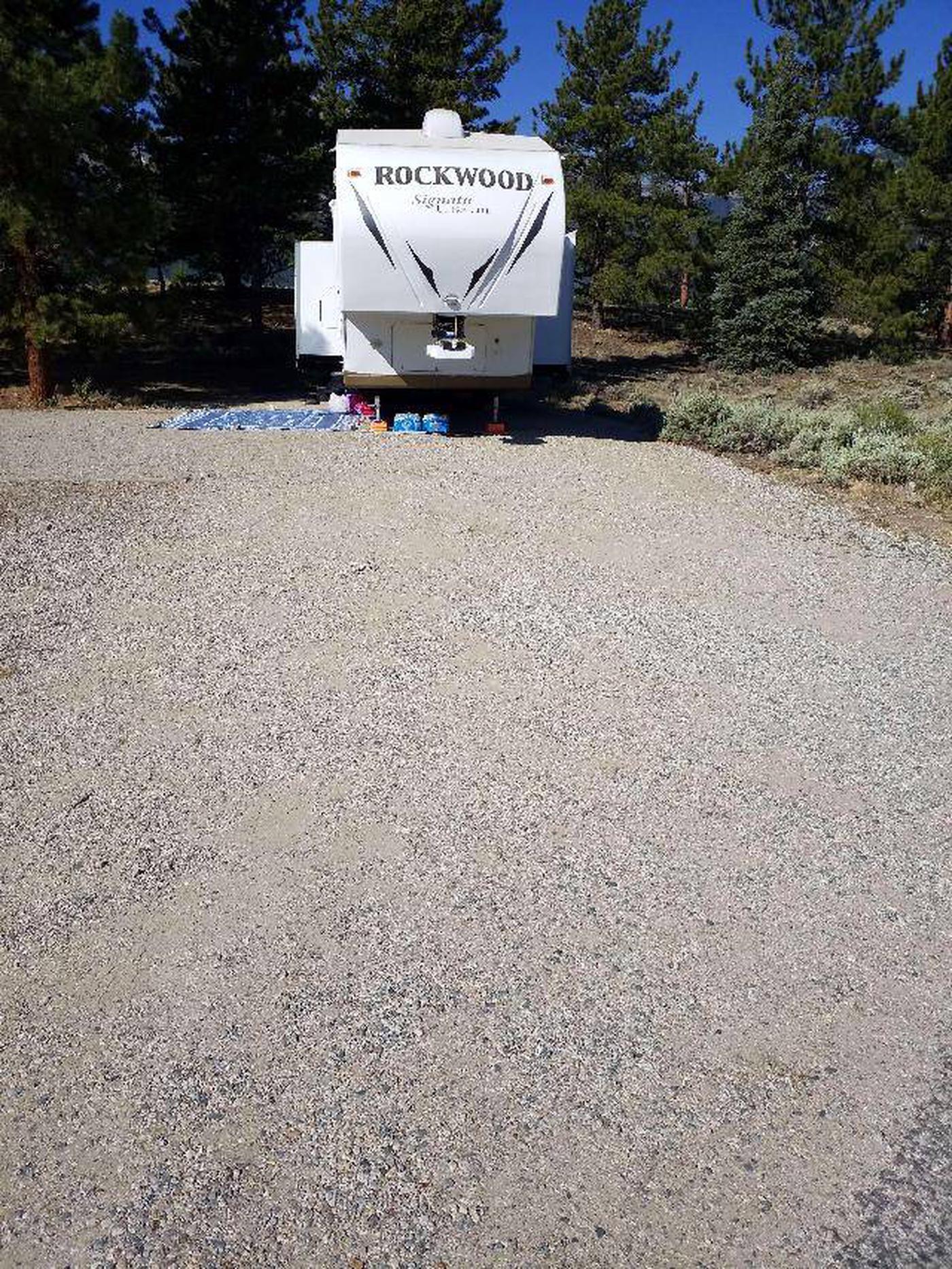 White Star Campground, site 7 parking