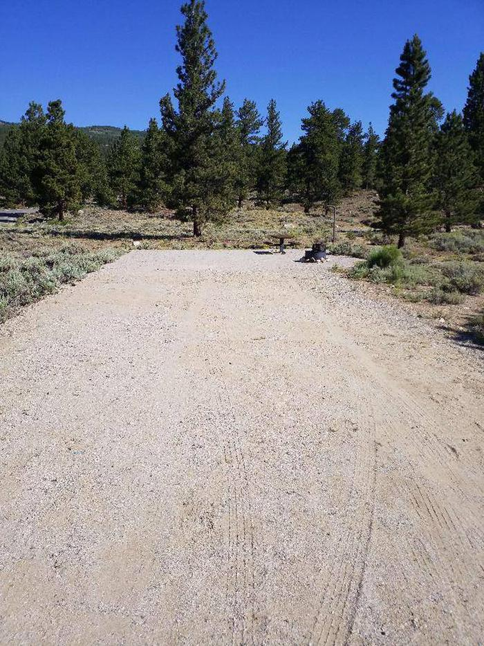 White Star Campground, site 11 parking