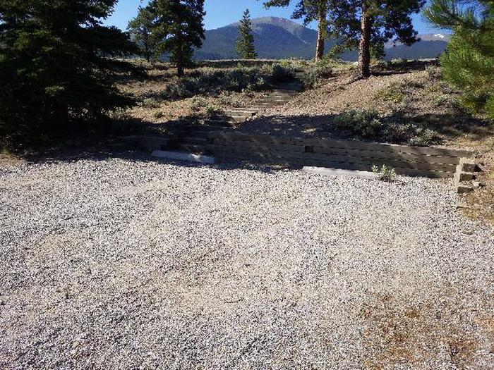 White Star Campground, site 12 parking