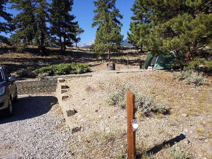 White Star Campground, site 14