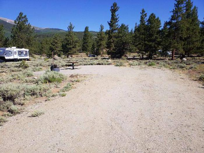 White Star Campground, site 15 view